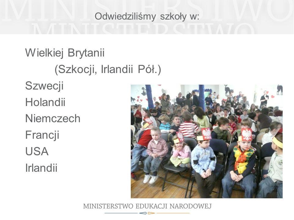 Odwiedziliśmy szkoły w: