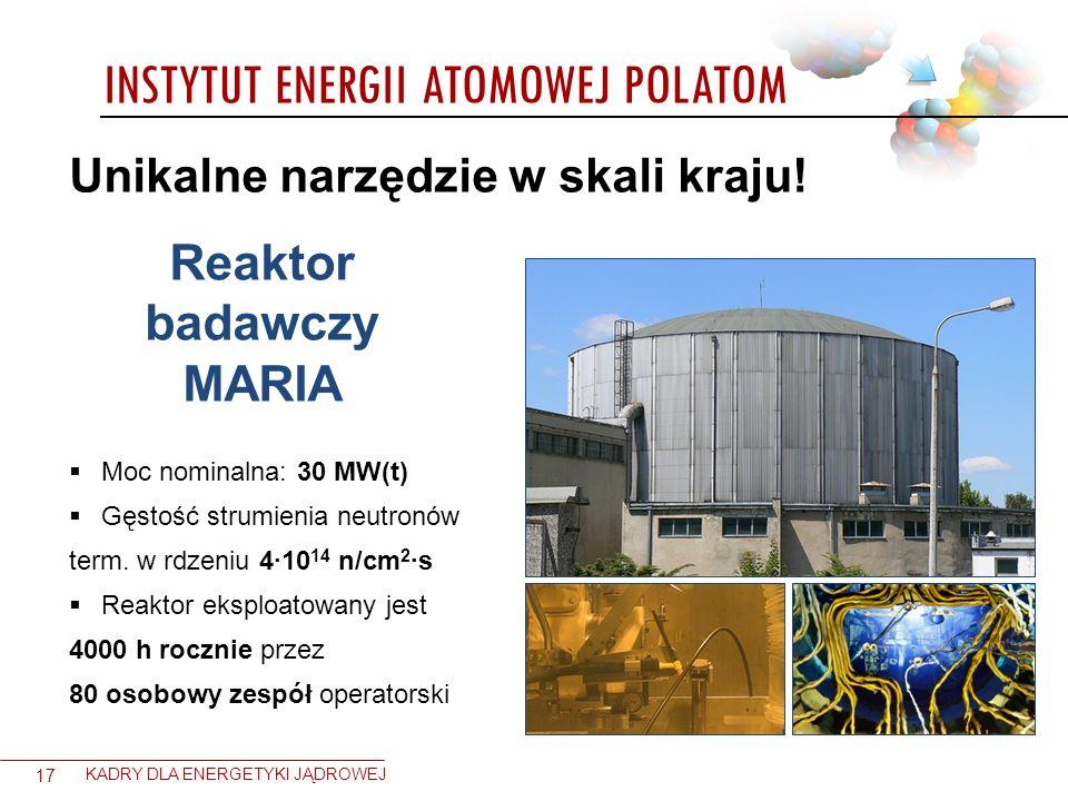 Reaktor badawczy MARIA