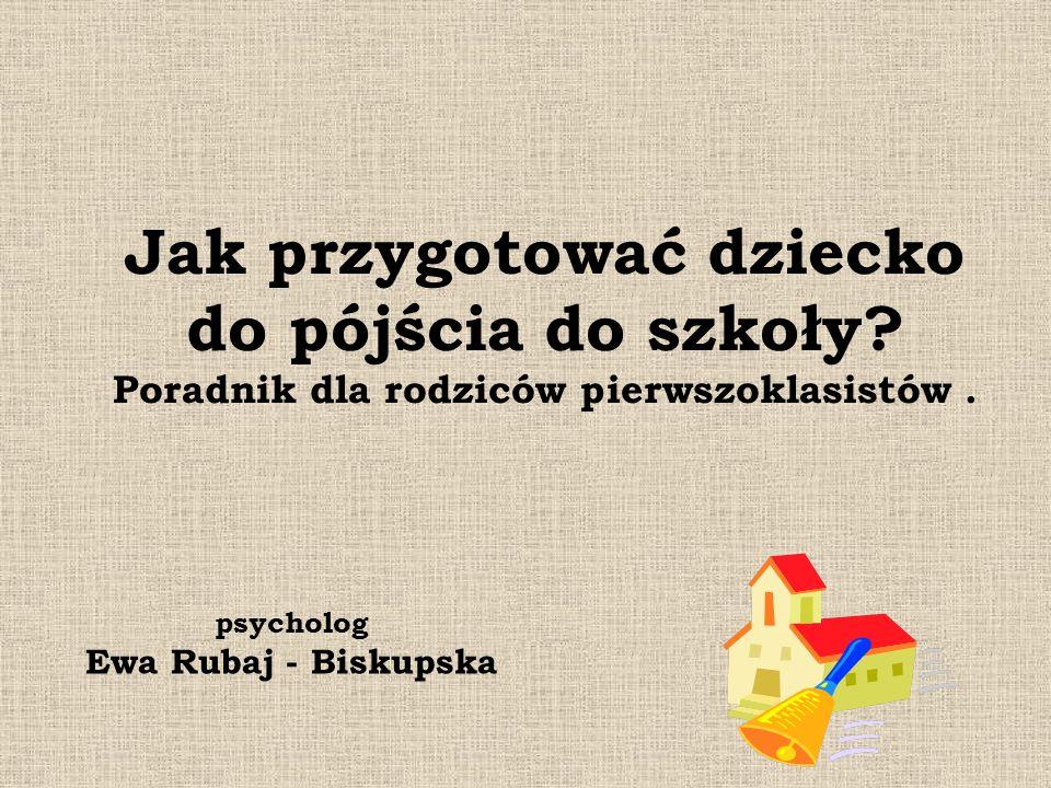 psycholog Ewa Rubaj - Biskupska