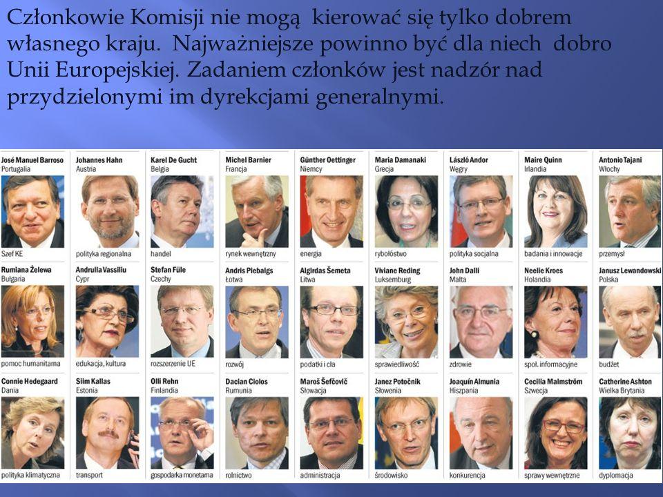Członkowie Komisji nie mogą kierować się tylko dobrem własnego kraju