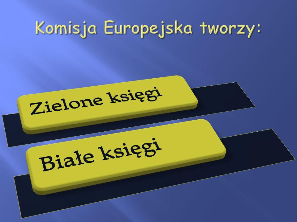 Komisja Europejska tworzy: