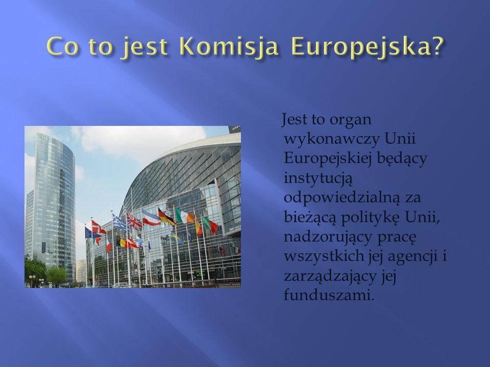 Co to jest Komisja Europejska