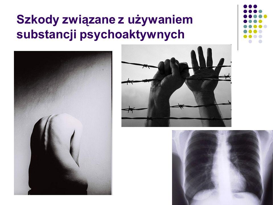 Szkody związane z używaniem substancji psychoaktywnych