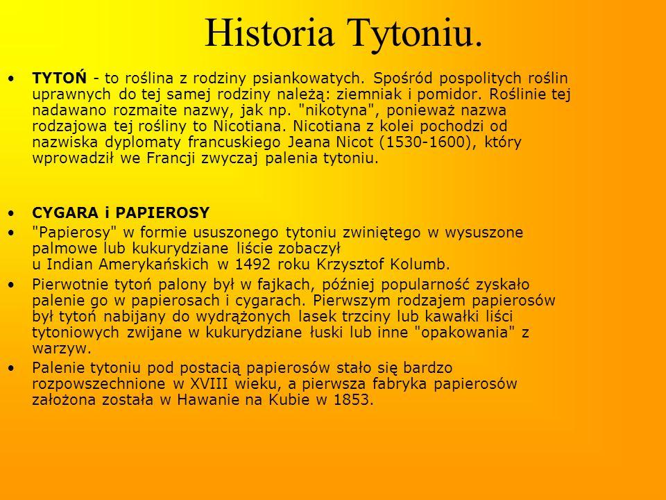 Historia Tytoniu.