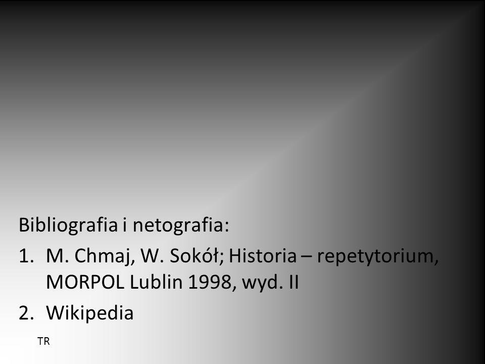 Bibliografia i netografia: