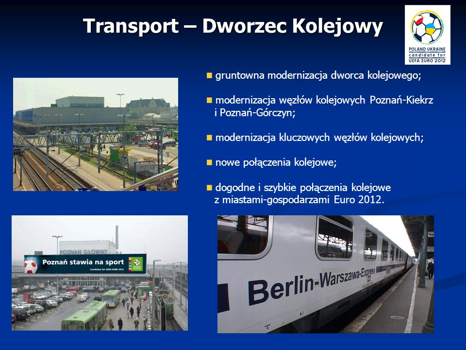 Transport – Dworzec Kolejowy