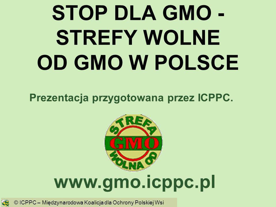 STOP DLA GMO - STREFY WOLNE OD GMO W POLSCE