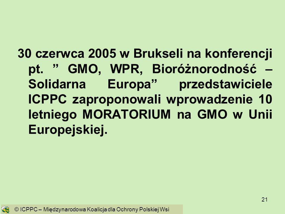 30 czerwca 2005 w Brukseli na konferencji pt