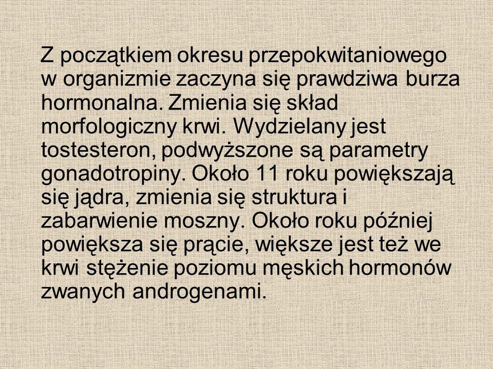 Z początkiem okresu przepokwitaniowego w organizmie zaczyna się prawdziwa burza hormonalna.