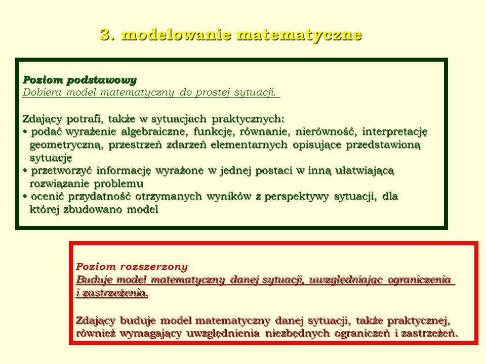 3. modelowanie matematyczne