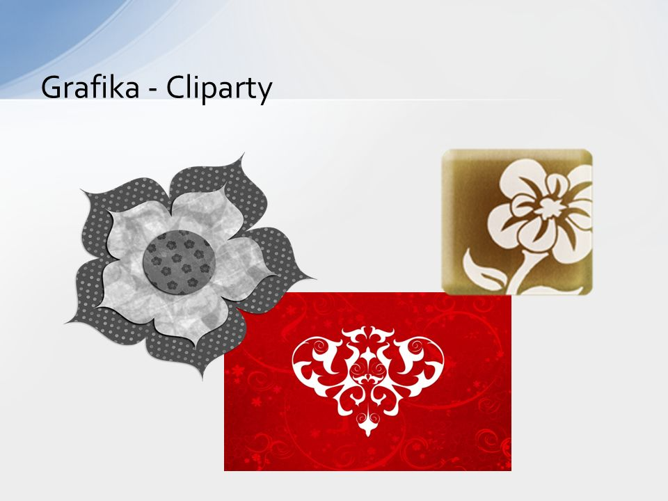 Grafika - Cliparty