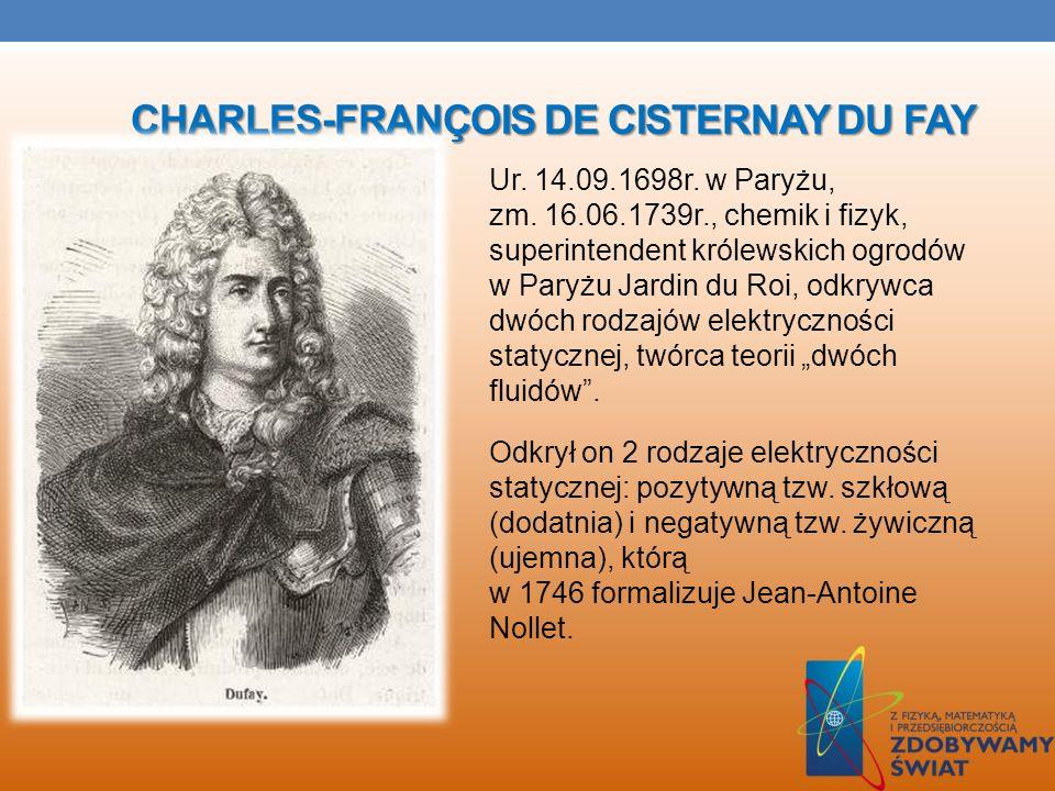 Charles-François de Cisternay Du Fay