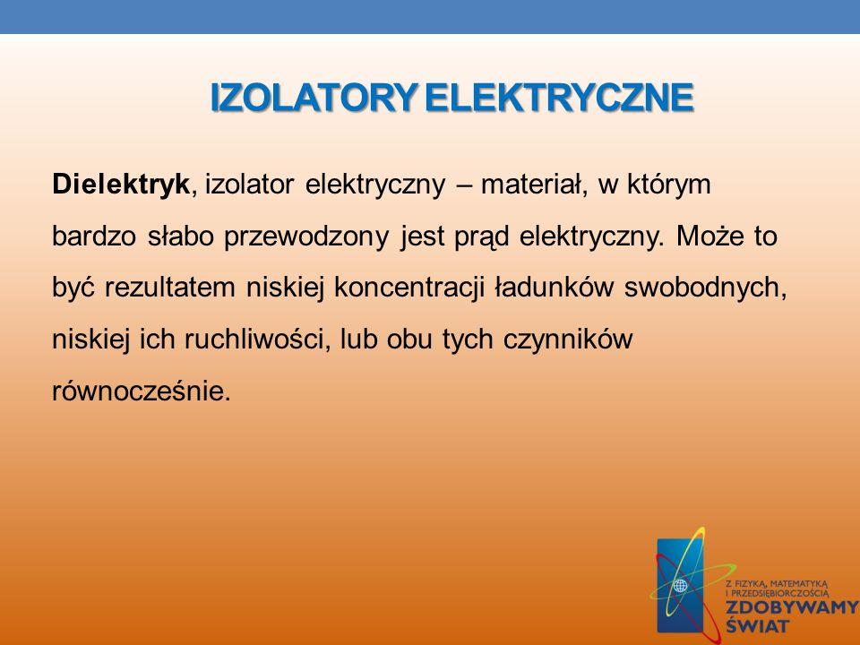 IZOLATORY ELEKTRYCZNE