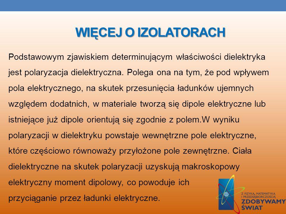 WIĘCEJ O IZOLATORACH