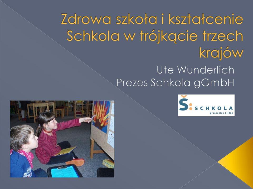 Zdrowa szkoła i kształcenie Schkola w trójkącie trzech krajów