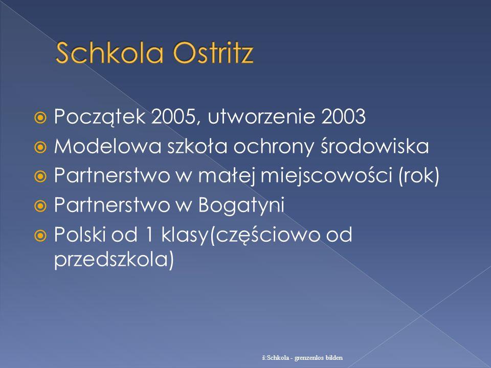Schkola Ostritz Początek 2005, utworzenie 2003