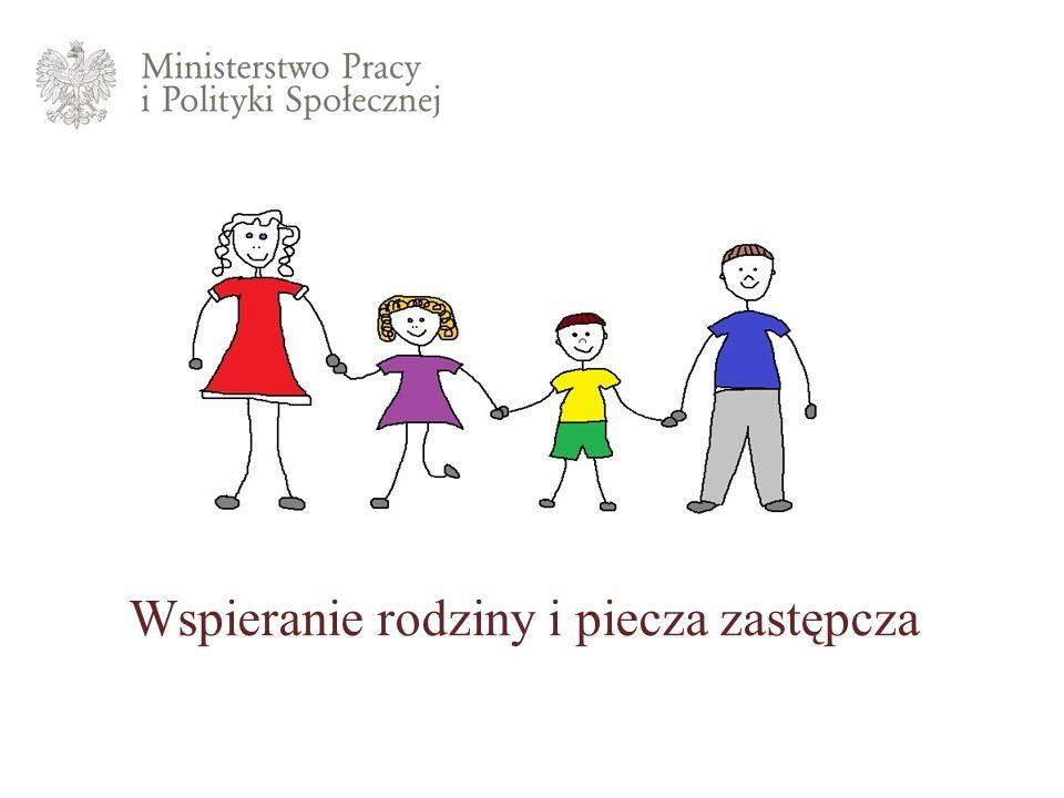 Wspieranie rodziny i piecza zastępcza