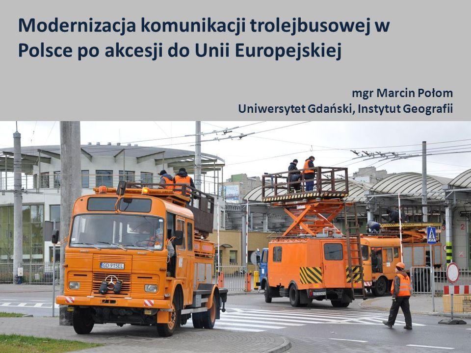 mgr Marcin Połom Uniwersytet Gdański, Instytut Geografii