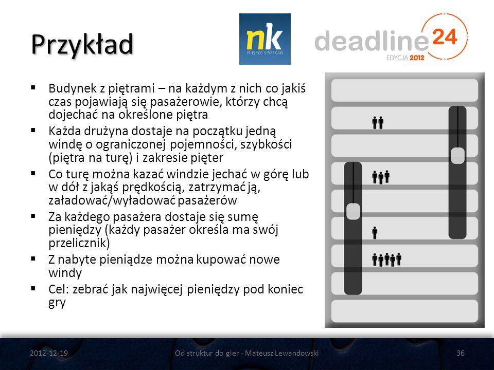 Od struktur do gier - Mateusz Lewandowski