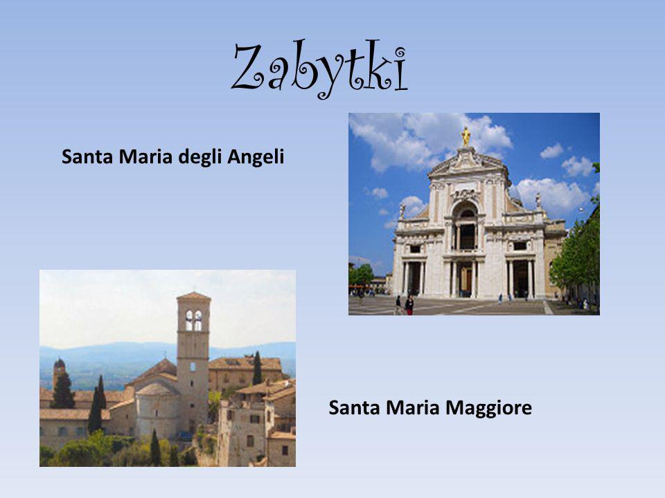Zabytki Santa Maria degli Angeli Santa Maria Maggiore