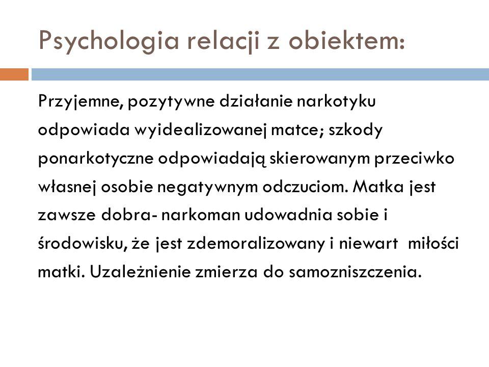 Psychologia relacji z obiektem: