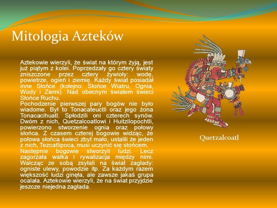 Mitologia Azteków Quetzalcoatl
