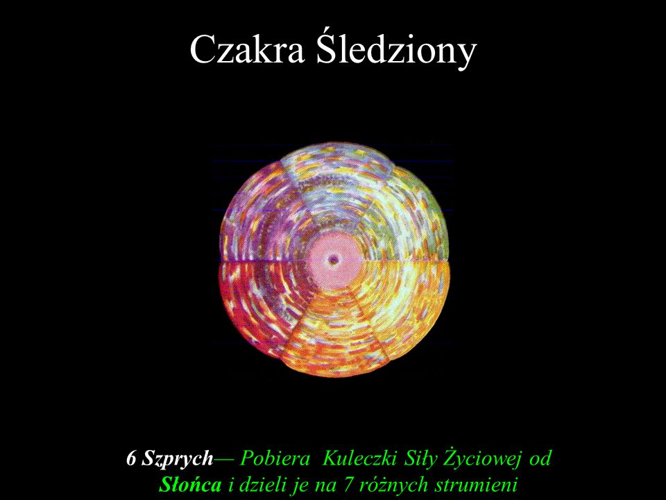 Czakra Śledziony Leadbeater C.W., The Chakras, TPH, 1996, Plate II, between pages 18 and 19.