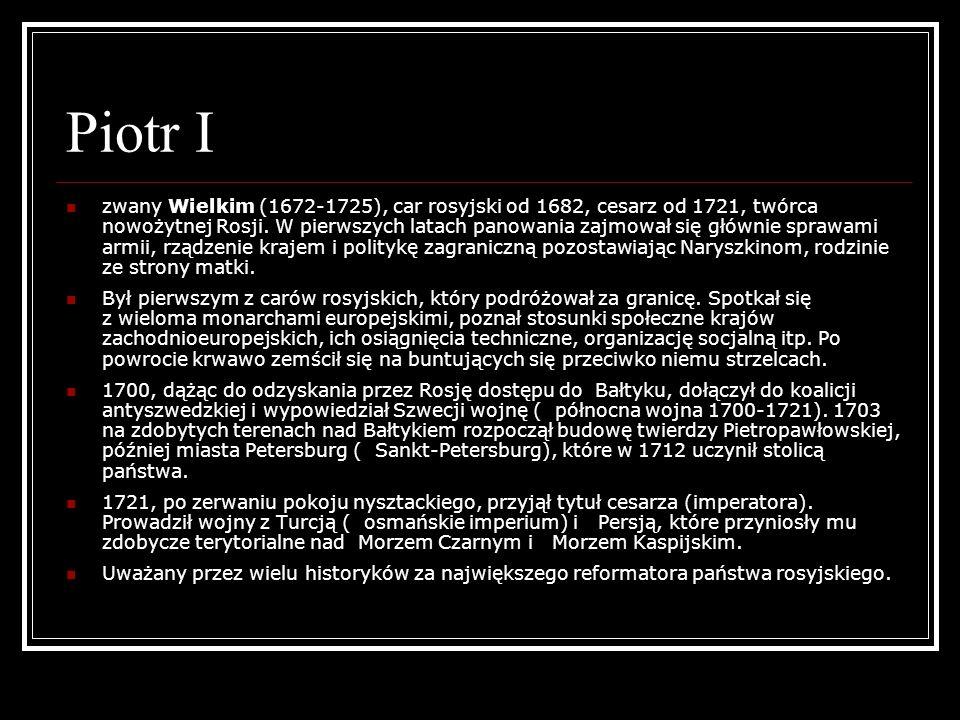 Piotr I
