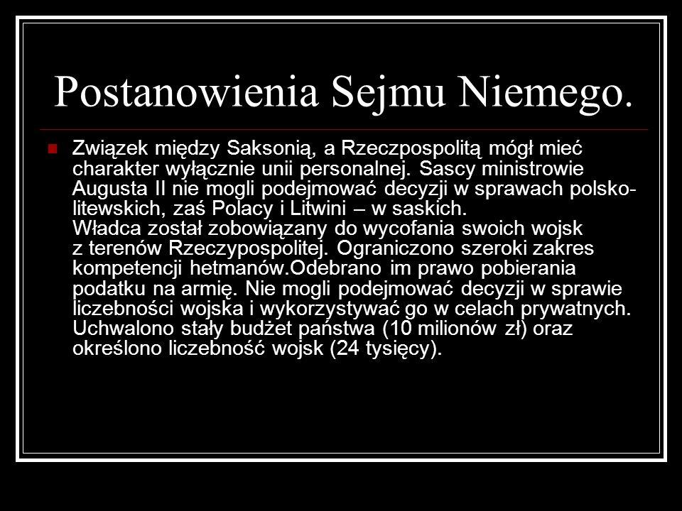 Postanowienia Sejmu Niemego.