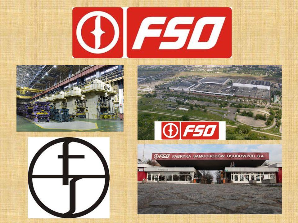Fabryka Samochodów Osobowych (FSO)- polskie przedsiębiorstwo przemysłu motoryzacyjnego, produkujące samochody osobowe.