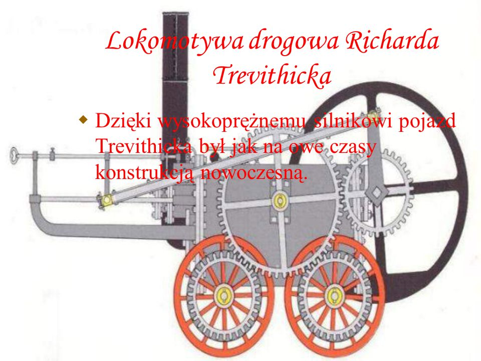 Lokomotywa drogowa Richarda Trevithicka