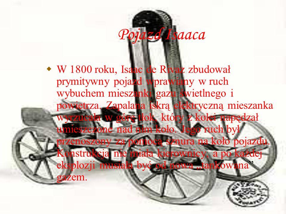 Pojazd Isaaca
