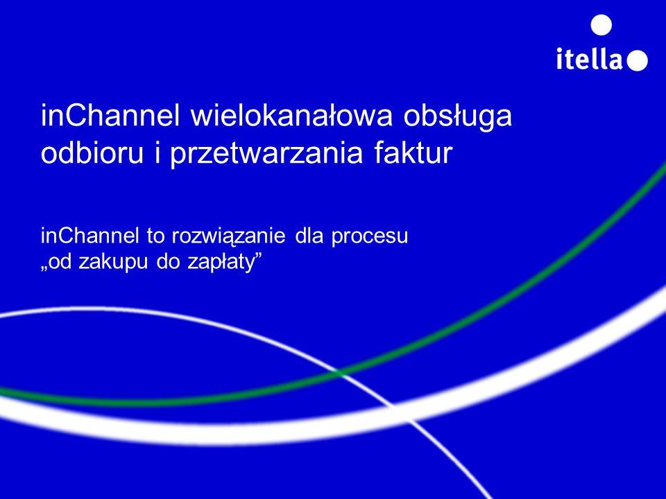inChannel wielokanałowa obsługa odbioru i przetwarzania faktur