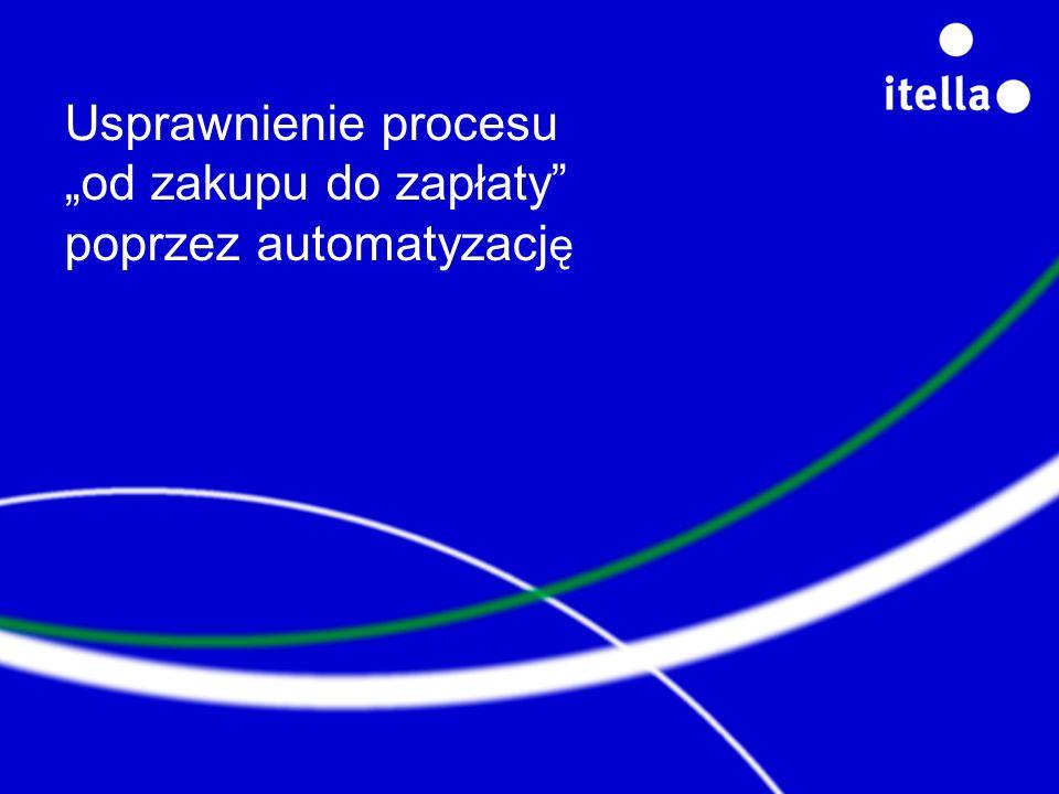 """Usprawnienie procesu """"od zakupu do zapłaty poprzez automatyzację"""