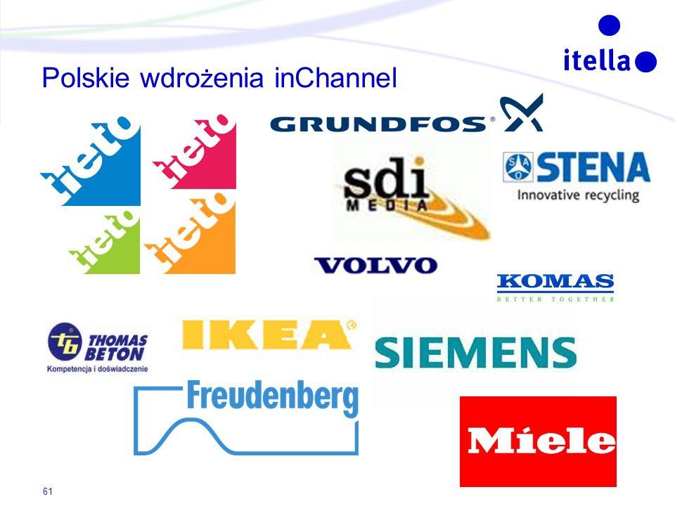 Polskie wdrożenia inChannel