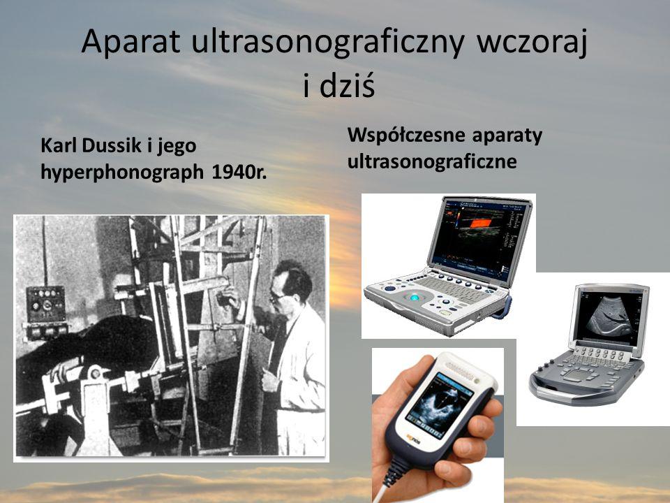 Aparat ultrasonograficzny wczoraj i dziś