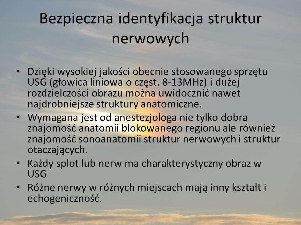 Bezpieczna identyfikacja struktur nerwowych