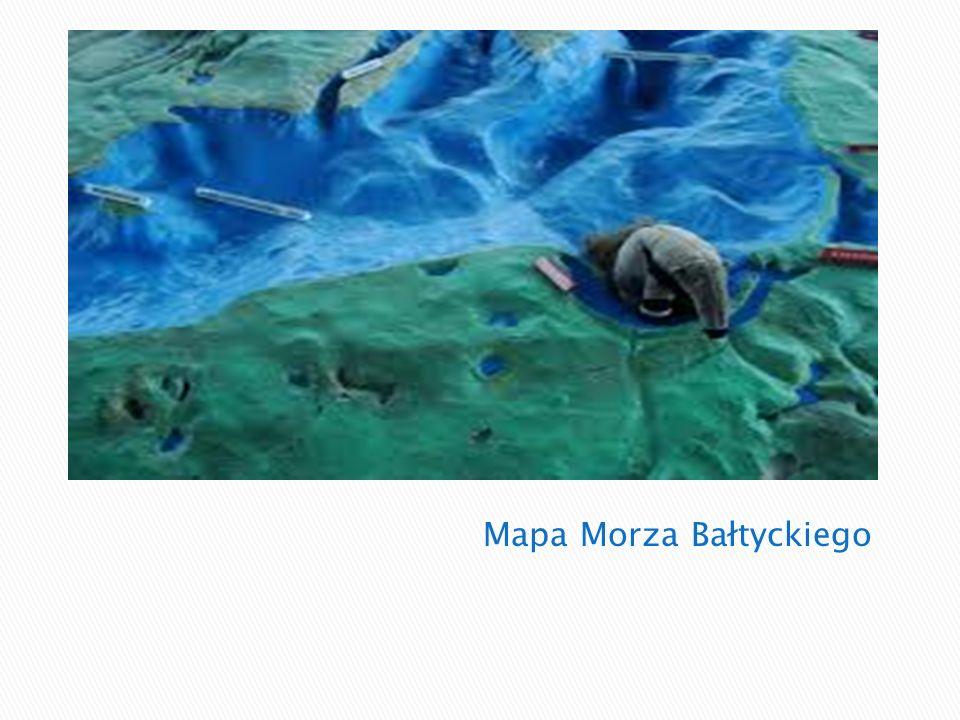 Mapa Morza Bałtyckiego
