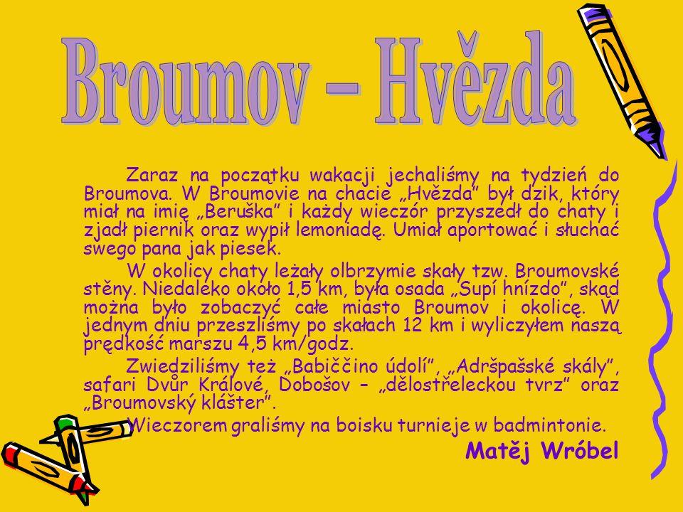 Broumov – Hvězda Matěj Wróbel