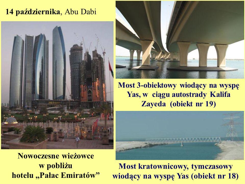 """Nowoczesne wieżowce w pobliżu hotelu """"Pałac Emiratów"""