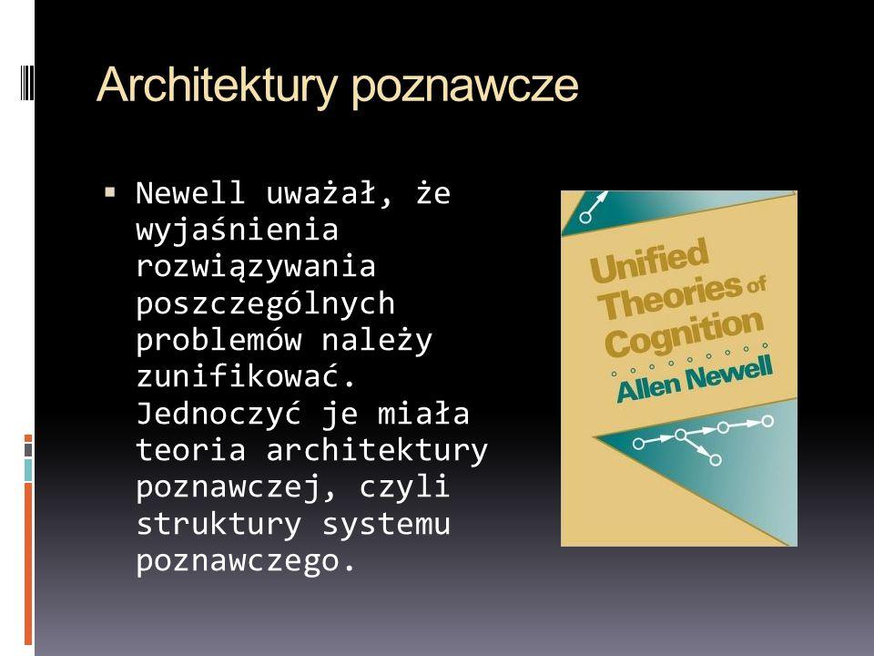 Architektury poznawcze