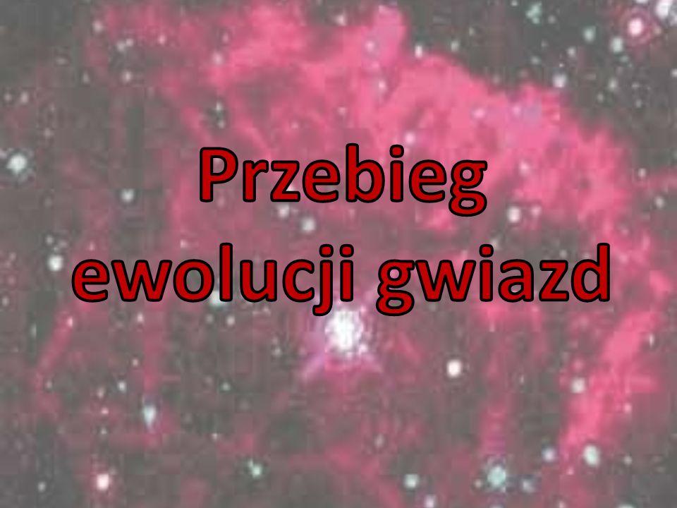 Przebieg ewolucji gwiazd