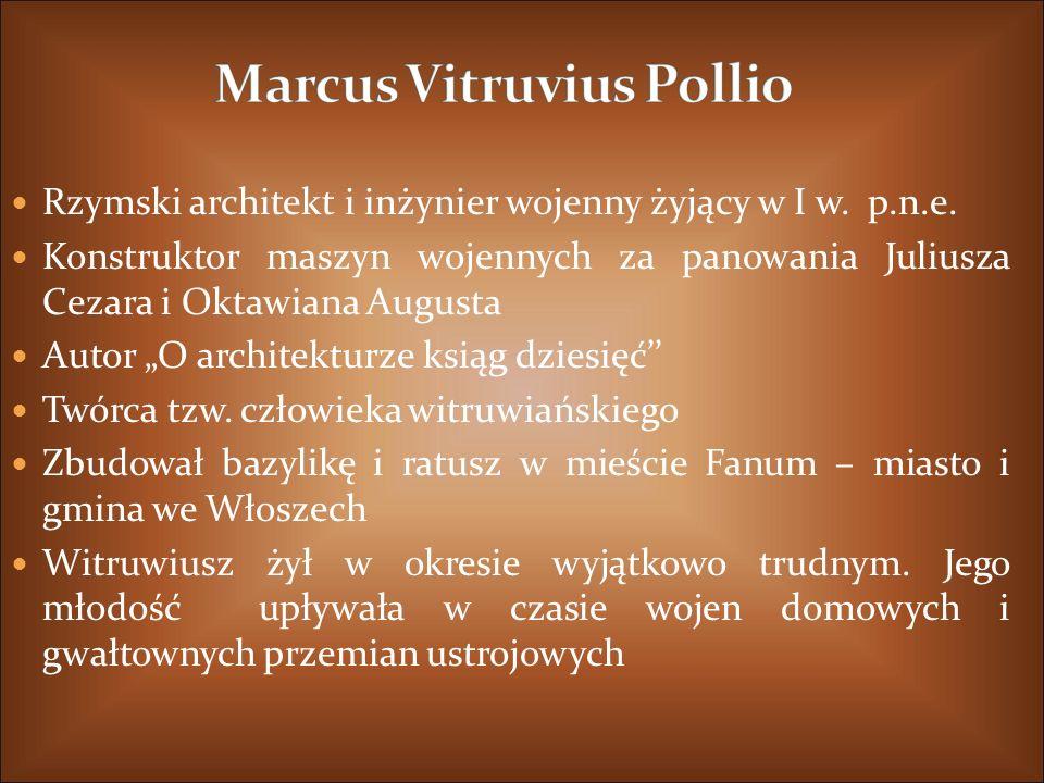 Marcus Vitruvius Pollio