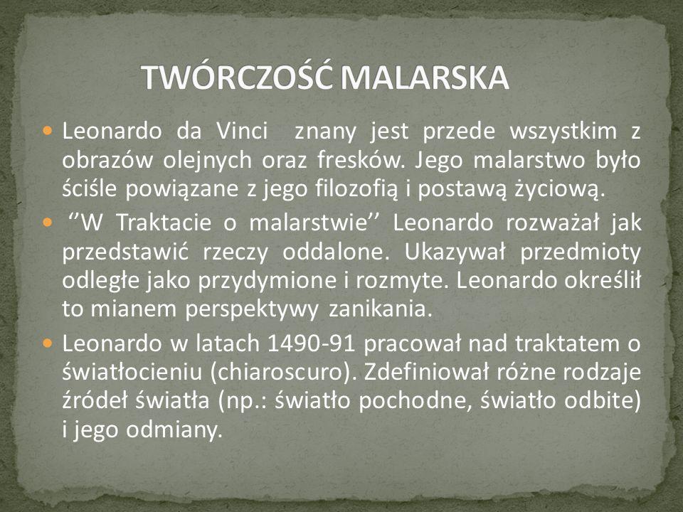 TWÓRCZOŚĆ MALARSKA