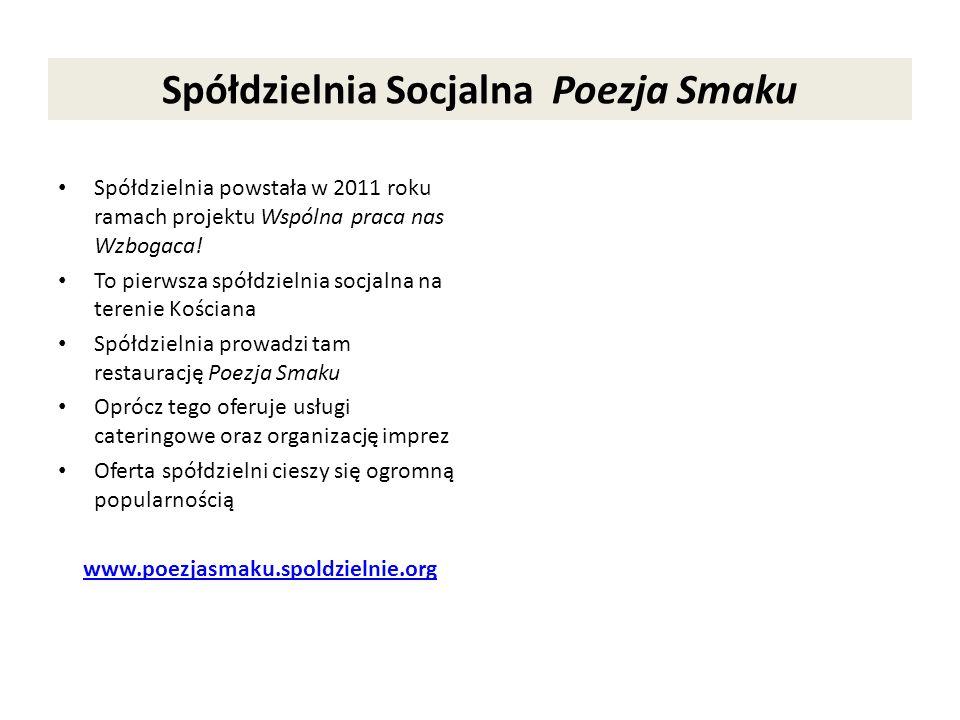 Spółdzielnia Socjalna Poezja Smaku