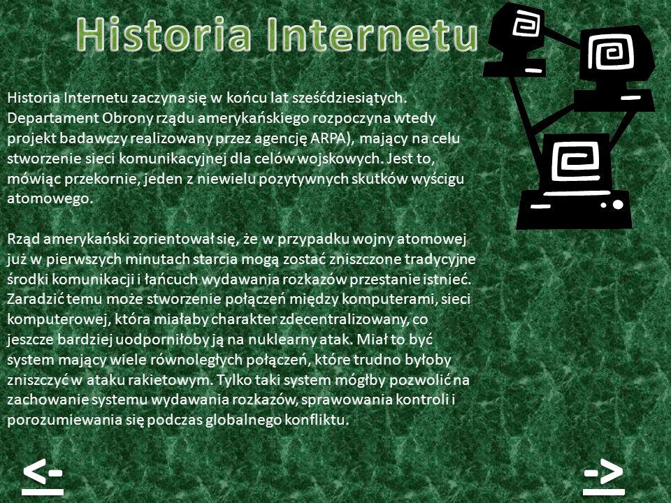 Historia Internetu <- ->