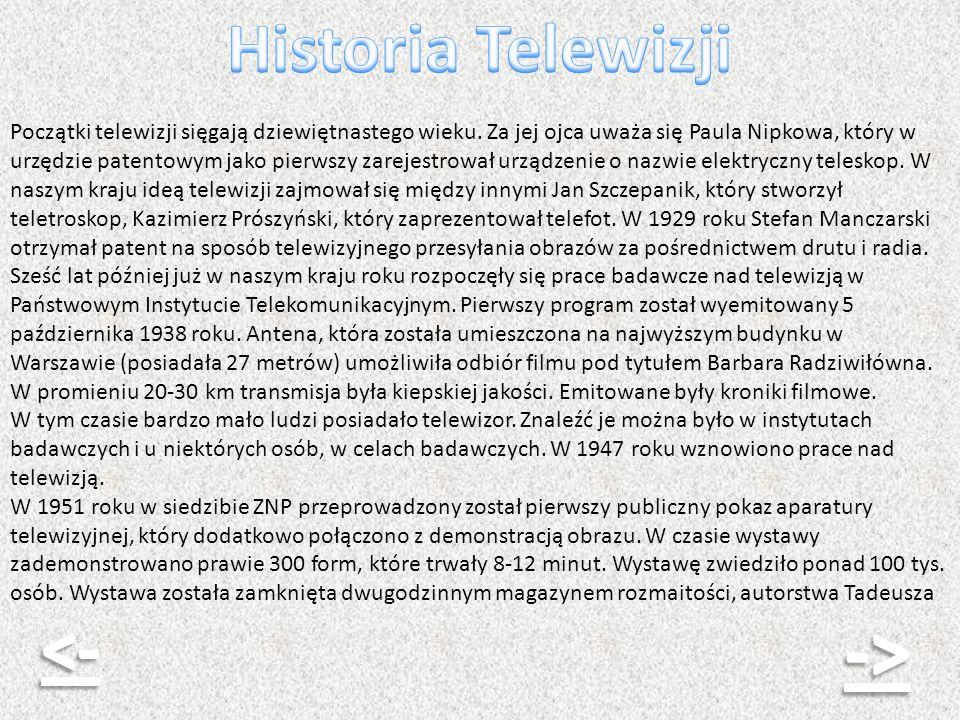 -> Historia Telewizji <-