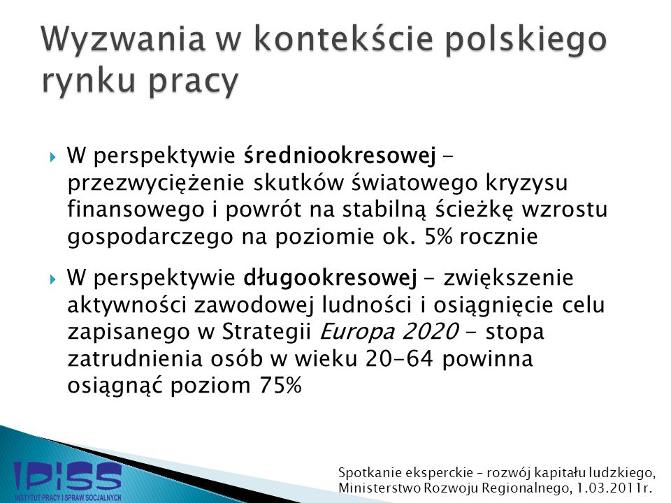 Wyzwania w kontekście polskiego rynku pracy