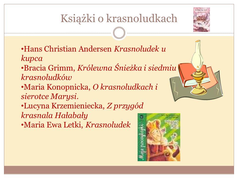 Książki o krasnoludkach