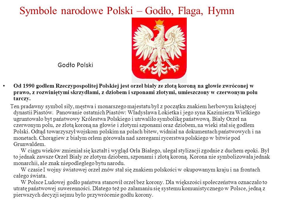 Symbole narodowe Polski – Godło, Flaga, Hymn